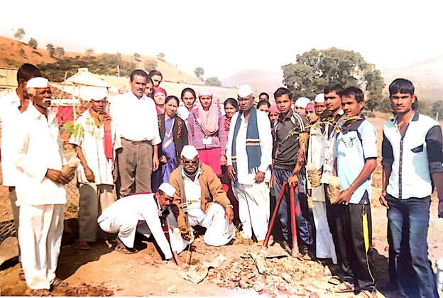 Tree Plantation at NSS Special Camp